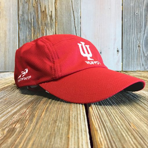 red IU hat