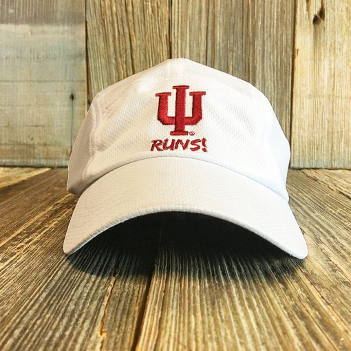 white IU hat front